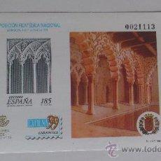 Sellos: PRUEBA OFICIAL Nº 68 CATÁLOGO EDIFIL (PRUEBA DE LUJO Nº 15), EXFILNA'99 ZARAGOZA. Lote 33218002