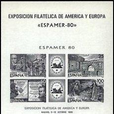 Sellos: ESPAÑA PRUEBAS OFICIALES Nº 3 ** ESPAMER 80. Lote 33583470