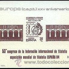 Sellos: ESPAÑA PRUEBAS OFICIALES 6/7 ** ESPAÑA 84 EUROPA 84. Lote 33583762