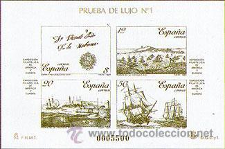 ESPAÑA PRUEBAS OFICIALES 12/13 ** ESPAMER 87 (Sellos - España - Pruebas y Minipliegos)