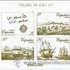 Sellos: ESPAÑA PRUEBAS OFICIALES 12/13 ** ESPAMER 87. Lote 33584378