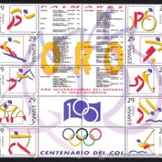 Sellos: ESPAÑA 1994 EDIFIL 3325 AL 3334 DEPORTES OLIMPICOS DE ORO NUEVA SIN FIJASELLOS. Lote 33995071