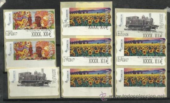 3272 etiquetas postales conmemorativas atm con comprar pruebas y rh en todocoleccion net