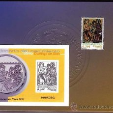 Stamps - España 2001. Carpeta especial Milenario de Santo Domingo de Silos Ver descripción para coste de enví - 34375450