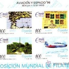 Sellos: ESPAÑA-PRUEBA Nº 59-AVIACIÓN Y ESPACIO-SEVILLA SEGÚN FOTO. Lote 36093617