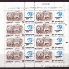 Sellos: ESPAÑA MP 2** - AÑO 1983 - DÍA DEL SELLO - CARRO DE CORREO ROMANO. Lote 228045242
