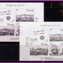 Sellos: PRUEBA OFICIAL 1987 EXPAMER LA CORUÑA, EDIFIL Nº 12 Y 13. Lote 36693626