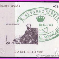 Sellos: PRUEBA OFICIAL 1990 DÍA DEL SELLO, EDIFIL Nº 20. Lote 36694316