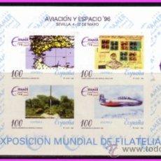 Sellos: PRUEBA OFICIAL 1996 AVIACIÓN Y ESPACIO, EDIFIL Nº 59. Lote 36695101