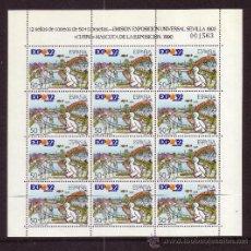 Stamps - ESPAÑA MP 6/9*** - AÑO 1990 - EXPOSICION UNIVERSAL DE SEVILLA EXPO 92 - 36709669