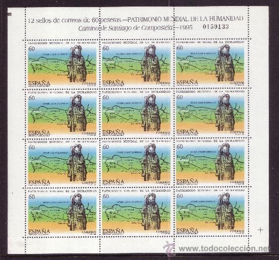 ESPAÑA MP 48/49*** - AÑO 1995 - PATRIMONIO DE LA HUMANIDAD (Sellos - España - Pruebas y Minipliegos)