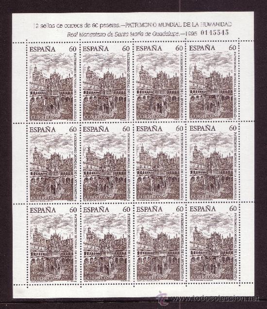 Sellos: ESPAÑA MP 48/49*** - AÑO 1995 - PATRIMONIO DE LA HUMANIDAD - Foto 2 - 36732908