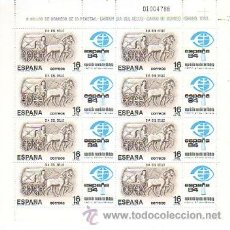 Sellos: ESPAÑA MINIPLIEGO 02- DIA DEL SELLO 1983. Lote 38655190