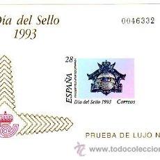 Sellos: ESPAÑA PRUEBA OFICIAL Nº 28 - DIA DEL SELLO 1993. CAT.18.-. Lote 38665302