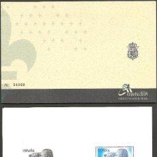 Sellos: 2004-ED. 4087A H.B. PRODUCTO ESPECIAL. REYES DE ESPAÑA.SELLO DE 6€ + CALCOGRAFIA DEL MISMO. Lote 39921458