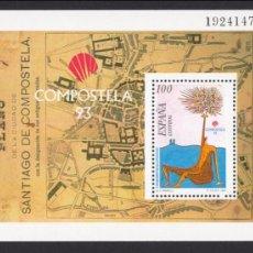 Sellos: ESPAÑA 1993, EDIFIL 3258, COMPOSTELA 93, NUEVA SIN FIJASELLOS. Lote 33995205