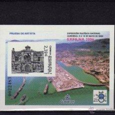 Sellos: ESPAÑA-HOJA PRUEBA OFICIAL Nº 92 EXFILNA 2006 ALGECIRAS. Lote 111263575