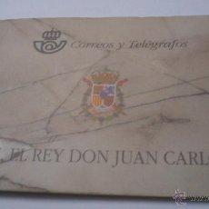 Sellos: CARNET DE S.M. EL REY JUAN CARLOS I 1998 BUEN ESTADO Y SIN USAR. Lote 45367790