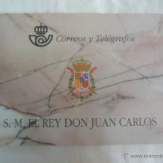 Sellos: CARNET S.M. EL REY DON JUAN CARLOS / CORREOS Y TELEGRAFOS / 1998 BUEN ESTADO SIN USAR. Lote 45389800