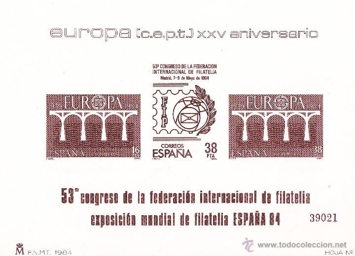 EUROPA 84 Y FAMILIA REAL. PRUEBAS OFICIALES 6 Y 7 EDIFIL. PERFECTAS. MISMA NUMERACIÓN (Sellos - España - Pruebas y Minipliegos)