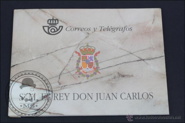 CARNET / CARTERITA SM REY DON JUAN CARLOS - CORREOS Y TELÉGRAFOS - 3544C EDIFIL - AÑO 1998 (Sellos - España - Pruebas y Minipliegos)