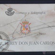 Sellos: CARNET / CARTERITA SM REY DON JUAN CARLOS - CORREOS Y TELÉGRAFOS - 3544C EDIFIL - AÑO 1998. Lote 46572224