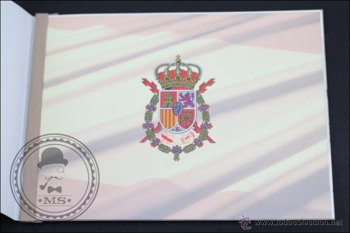 Sellos: Carnet / Carterita SM Rey Don Juan Carlos - Correos y Telégrafos - 3544C EDIFIL - Año 1998 - Foto 2 - 46572224