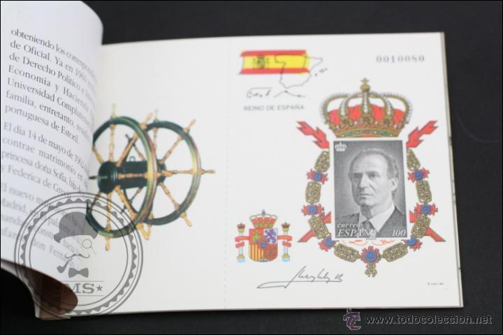 Sellos: Carnet / Carterita SM Rey Don Juan Carlos - Correos y Telégrafos - 3544C EDIFIL - Año 1998 - Foto 3 - 46572224