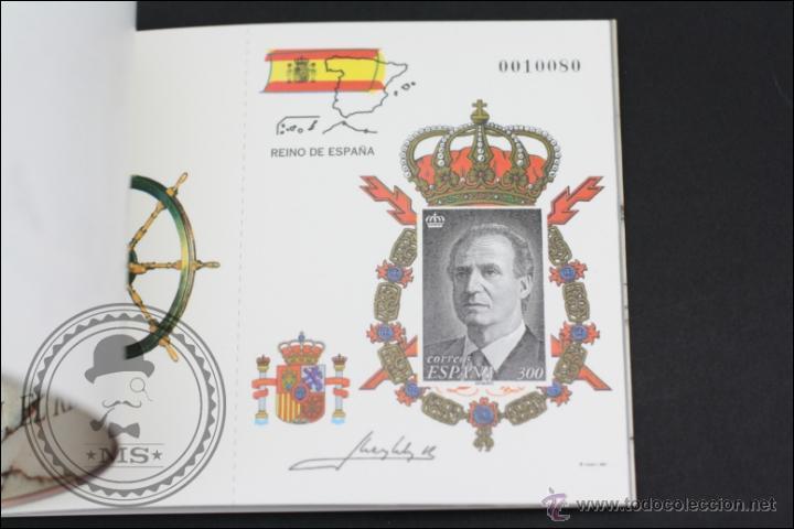 Sellos: Carnet / Carterita SM Rey Don Juan Carlos - Correos y Telégrafos - 3544C EDIFIL - Año 1998 - Foto 4 - 46572224