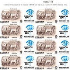 Sellos: ESPAÑA AÑO 1983 DIA DEL SELLO Nº 2719 MINIPLIEGO Nº 2. 10 MINIPLIEGOS NUEVOS. Lote 47090129