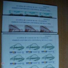 Sellos: EXPO SEVILLA M.P. EDIFIL 24/27 NUEVOS Y PERFECTOS. Lote 47886592