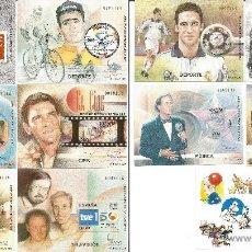 Sellos: ESPAÑA 2000-EXPO- MUNDIAL FILATELIA-ED.3756/66-11 H.B. SIN DENTAR -CON ESTUCHE-NUEVOS-GOMA ORIGINAL. Lote 49357026