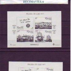 Sellos: PRL0012, PRUEBA OFICIAL 12/13, MITAD DE CATALOGO. Lote 49408059