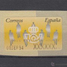 Sellos: ETIQUETA TERMICA C.2. 3 NUEVA Nº 0021, AJUSTE . Lote 50065797
