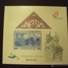 Sellos: PRUEBA DE LUJO Nº 6 DEL AÑO 1992 EXPOSICIÓN MUNDIAL DE GRANADA. Lote 96882171