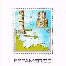 Sellos: DOCUMENTO NUMERO 12 DEL AÑO 1980 DE LA FABRICA NACIONAL DE MONEDA Y TIMBRE. Lote 56328445
