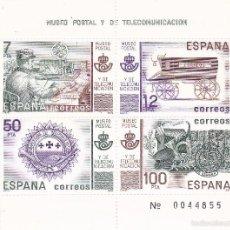 Sellos: MUSEO POSTAL Y DE TELECOMUNICACION. Lote 56531462