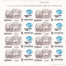 Sellos: CARRO DE CORREO ROMANO 1983 NUEVO. Lote 56531497