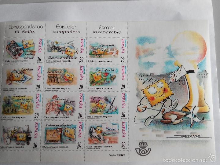 ESPAÑA EDIFIL MINIPLIEGO MP 66 - AÑO 1999 NUEVO (Stamps - Spain - Tests and Minisheets)