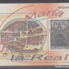 Sellos: P.O.: XX 73 SANTA MARIA DE LA REAL-ARANDA DEL DUERO 2000. Lote 61593848
