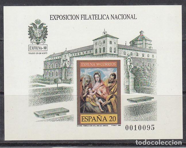 P.O.: XX 19. EXFILNA-89 (I TIRADA) 1989 (Sellos - España - Pruebas y Minipliegos)