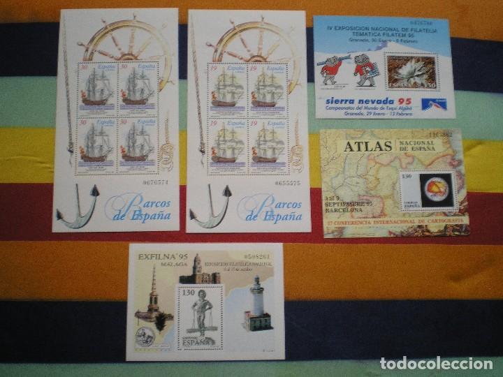 HOJITAS, AÑO 1.995 (Sellos - España - Pruebas y Minipliegos)