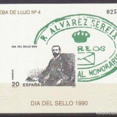 Sellos: P.O.: XX 20. DÍA DEL SELLO-1990.. Lote 63095024