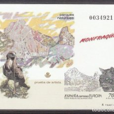 Sellos: P.O.: XX 69. EUROPA-RESERVAS Y PARQUE NATURALES. 1999. Lote 63096456