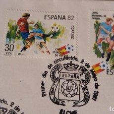 Sellos: SOBRE SELLO SELLOS ESPAÑA 82 1ER DIA DE CIRCULACON ELCHE 1981. Lote 66247778