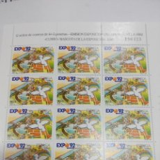 Stamps - ESPAÑA EDIFIL MP 6 MINIPLIEGO AÑO 1990 . NUEVO - 68048669