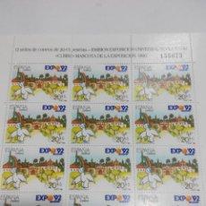 Stamps - ESPAÑA EDIFIL MP 7 MINIPLIEGO AÑO 1990. NUEVO - 68048833