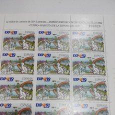 Stamps - ESPAÑA EDIFIL MP 9 MINIPLIEGO AÑO 1990. NUEVO - 164075958