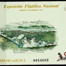 Stamps - ESPAÑA 1991- EDI (Prueba Oficial Nº 24)(Exfilna'91-Madrid) - 68392181
