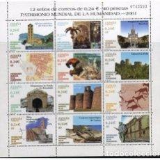 Sellos: EDIFIL 3843** PATRIMONIO DE LA HUMANIDAD MINIPLIEGO 77 ( 7,20 € ). Lote 86948436